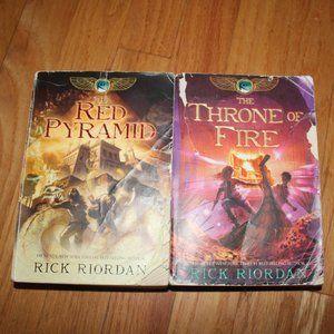 Kane Chronicles books 1+2
